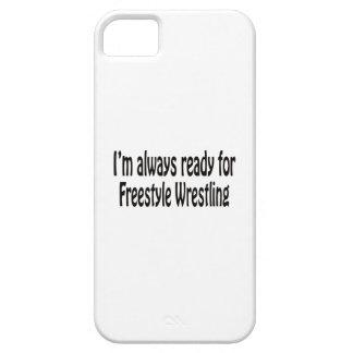 Estoy siempre listo para la lucha de estilo libre iPhone 5 cobertura