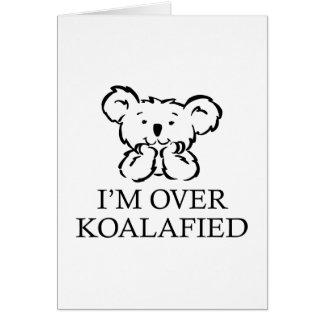 Estoy sobre Koalafied Felicitacion