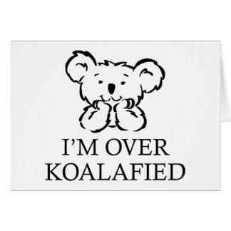 Estoy sobre Koalafied Felicitación