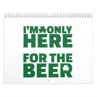 Estoy solamente aquí para la cerveza calendarios