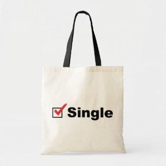 Estoy solo y disponible bolsa tela barata