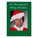 Estoy soñando con el navidad de un Whitey… Felicitaciones
