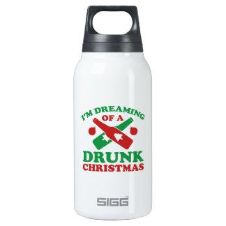 Estoy soñando con navidad bebido A Botella Isotérmica De Agua