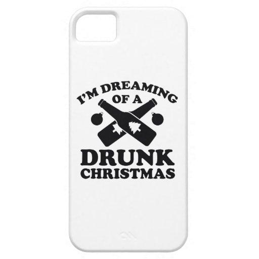 Estoy soñando con navidad bebido A iPhone 5 Case-Mate Protectores