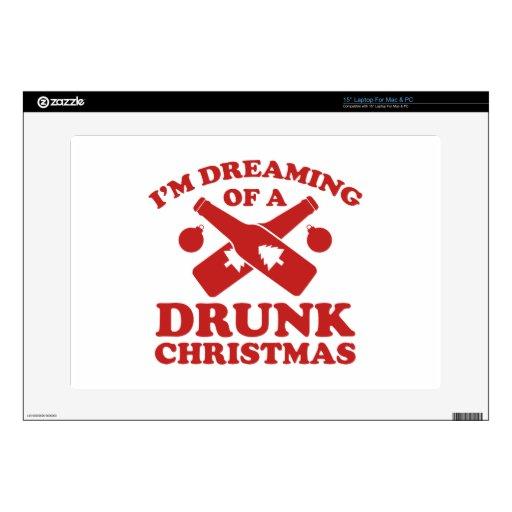 Estoy soñando con navidad bebido A 38,1cm Portátil Calcomanía
