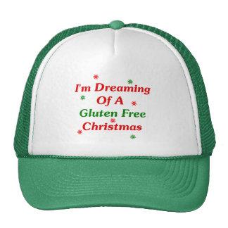 Estoy soñando con navidad de un gluten libremente gorras de camionero