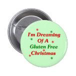 Estoy soñando con navidad de un gluten libremente pins