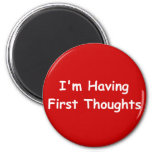 Estoy teniendo primeros pensamientos iman