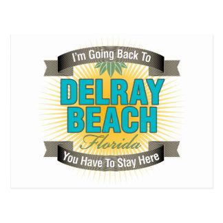 Estoy volviendo a (Delray Beach) Postal
