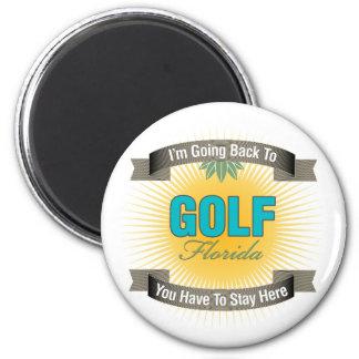 Estoy volviendo a (el golf) imán redondo 5 cm