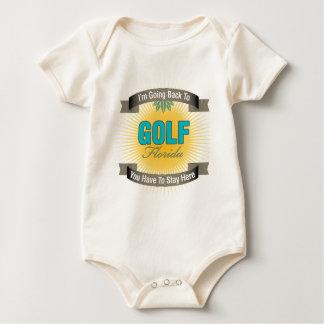 Estoy volviendo a (el golf) mamelucos de bebé