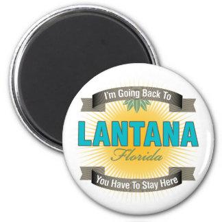 Estoy volviendo a (el Lantana) Imanes