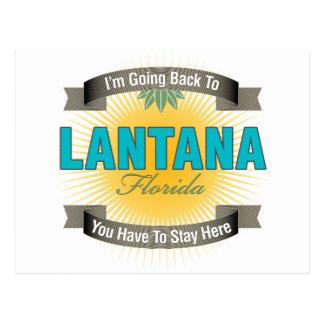 Estoy volviendo a (el Lantana) Tarjeta Postal