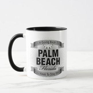Estoy volviendo a (el Palm Beach) Taza