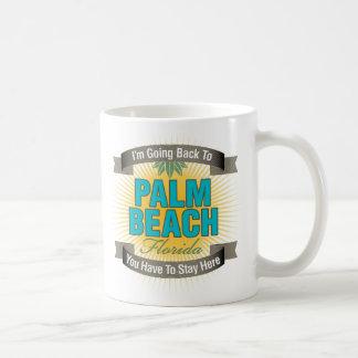 Estoy volviendo a (el Palm Beach) Tazas De Café