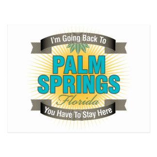 Estoy volviendo a (el Palm Springs) Tarjetas Postales