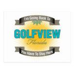 Estoy volviendo a (Golfview) Postal