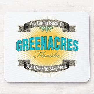 Estoy volviendo a Greenacres Alfombrilla De Raton