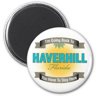 Estoy volviendo a (Haverhill) Imán Para Frigorífico