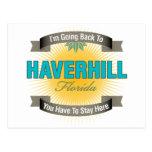 Estoy volviendo a (Haverhill) Postales