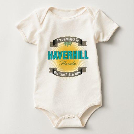 Estoy volviendo a (Haverhill) Traje De Bebé
