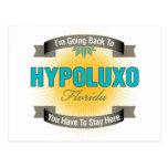 Estoy volviendo a (Hypoluxo) Tarjeta Postal