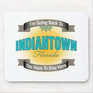 Estoy volviendo a Indiantown Alfombrillas De Raton