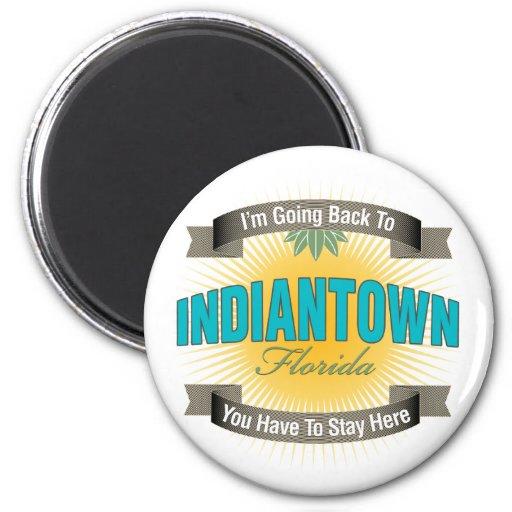 Estoy volviendo a (Indiantown) Imán Redondo 5 Cm