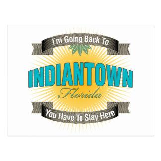 Estoy volviendo a (Indiantown) Tarjeta Postal