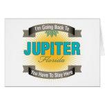 Estoy volviendo a (Júpiter) Felicitación