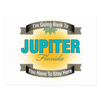 Estoy volviendo a (Júpiter) Postal