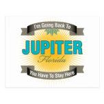 Estoy volviendo a (Júpiter) Tarjeta Postal