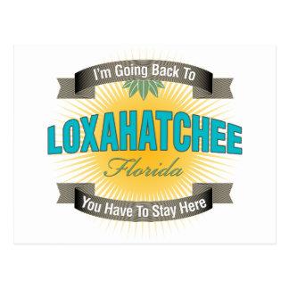 Estoy volviendo a (Loxahatchee) Tarjeta Postal