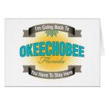 Estoy volviendo a (Okeechobee) Felicitación