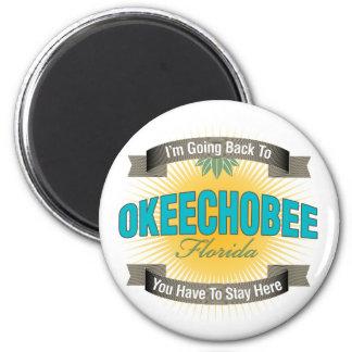 Estoy volviendo a (Okeechobee) Imán De Nevera