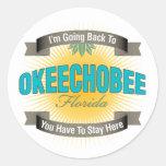 Estoy volviendo a (Okeechobee) Pegatina
