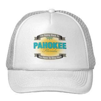 Estoy volviendo a (Pahokee) Gorros Bordados