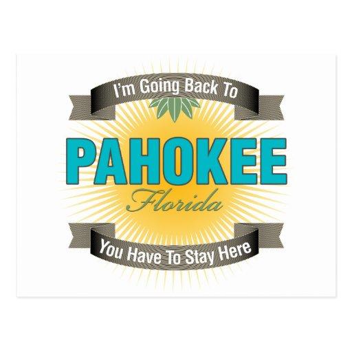 Estoy volviendo a (Pahokee) Postales
