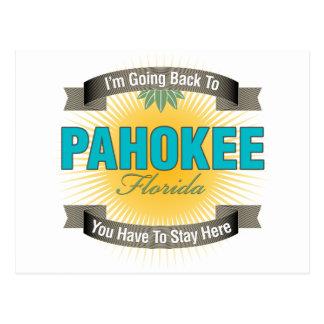 Estoy volviendo a (Pahokee) Tarjeta Postal