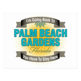 Estoy volviendo a (Palm Beach Gardens) Tarjetas Postales