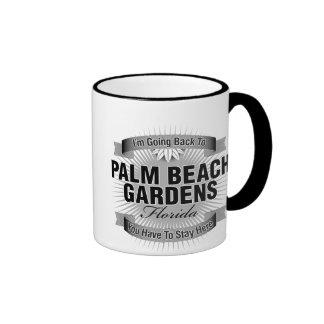 Estoy volviendo a (Palm Beach Gardens) Taza