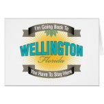 Estoy volviendo a (Wellington) Felicitacion