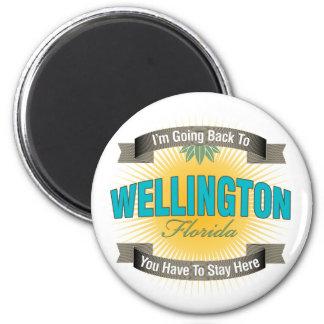 Estoy volviendo a (Wellington) Iman Para Frigorífico