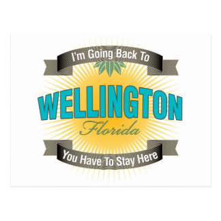 Estoy volviendo a Wellington Postal