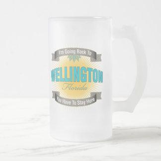 Estoy volviendo a (Wellington) Taza De Cristal