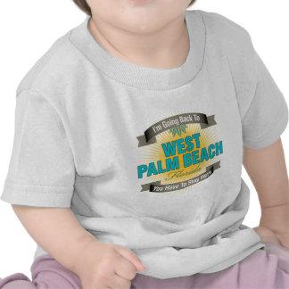 Estoy volviendo a West Palm Beach Camiseta
