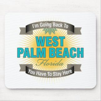Estoy volviendo a West Palm Beach Alfombrilla De Ratones