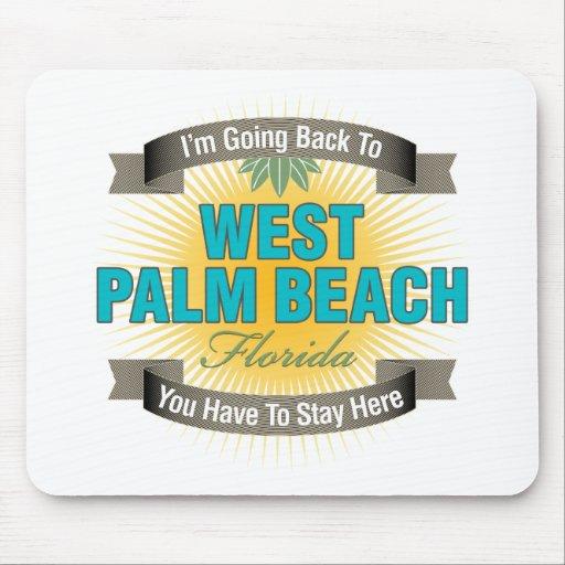 Estoy volviendo a (West Palm Beach) Alfombrilla De Ratones