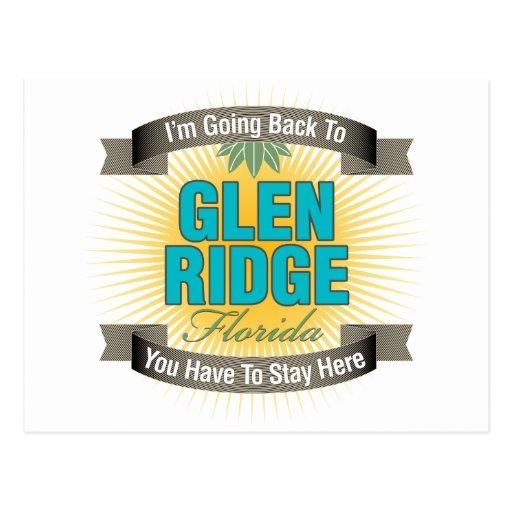 Estoy volviendo (cañada Ridge) Tarjeta Postal
