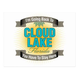 Estoy volviendo (el lago cloud) postal